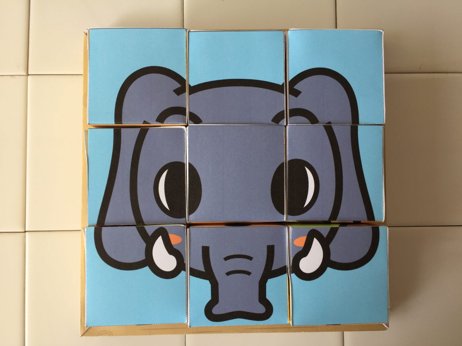 キヤノンクリエイトパーク 動物絵合わせパズル