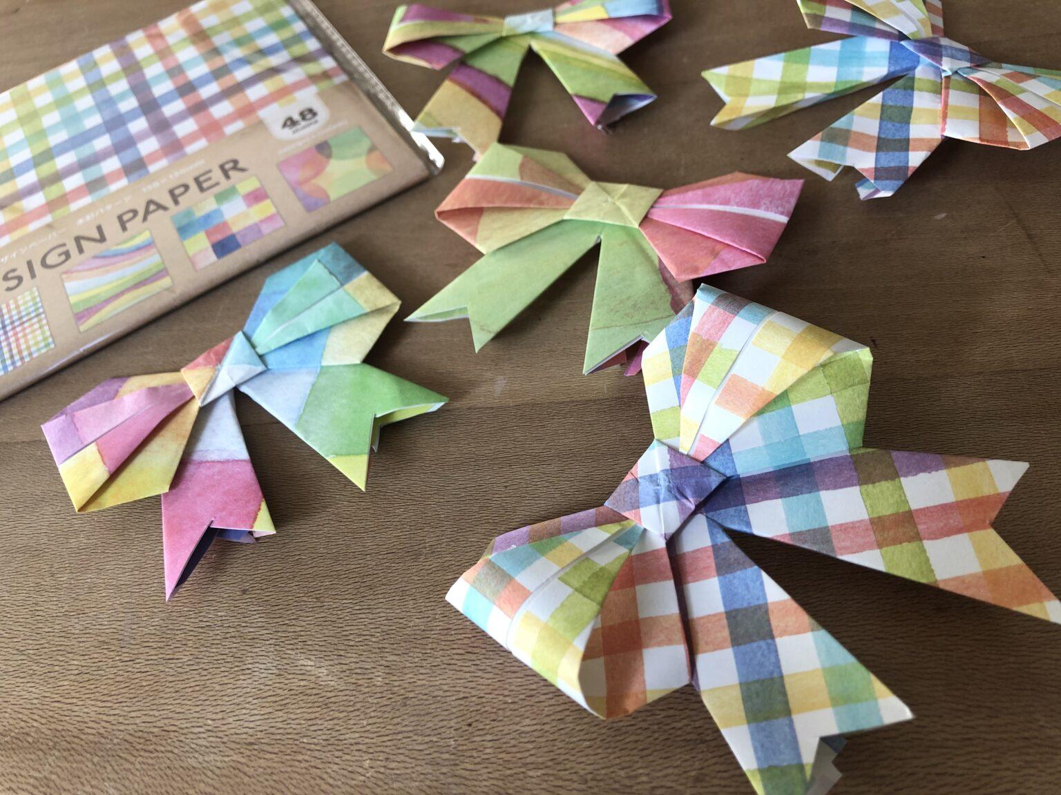 折り紙リボン