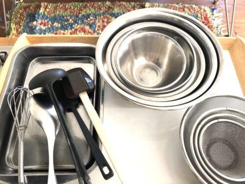 キッチン収納 簡単ざっくりのアイデア紹介