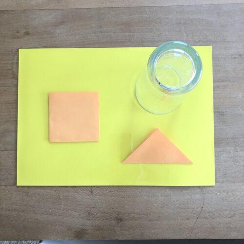 ダイソーのマグネットシートで作る型はめパズル
