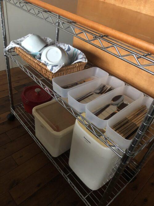 お手伝いしやすいキッチンにするために、キッチンワゴンをすすめる3つの理由