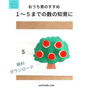 【おうち育レッスン】Lesson1「3までの数を学ぶ」