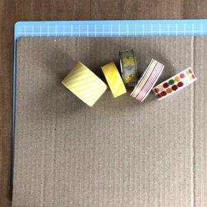 2歳児のための手作り知育おもちゃ 「大きさを考えるダンボール知育パズル