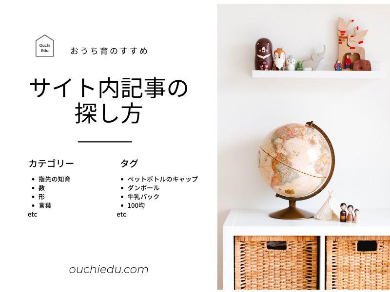Ouchi Edu サイト内記事の探し方