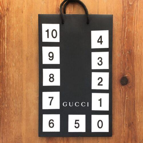 数字カード手作り