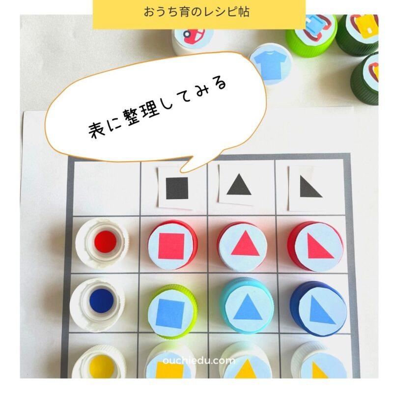 【無料ダウンロード】ペットボトルキャップで知育おもちゃを作ろう リメイクシールで工作できます